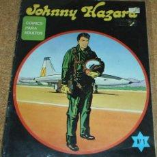 Tebeos: JOHNNY HAZARD Nº 1 EDICIONES MAISAL 1976 - NÚMERO UNO - LIQUIDACION. Lote 84604160