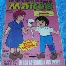 Tebeos: MARCO EXTRA MENSUAL Nº 1 - EDICIONES BRUGUERA 1976 - NÚMERO UNO - CONSERVA EL POSTER - LIQUIDACION. Lote 84605056