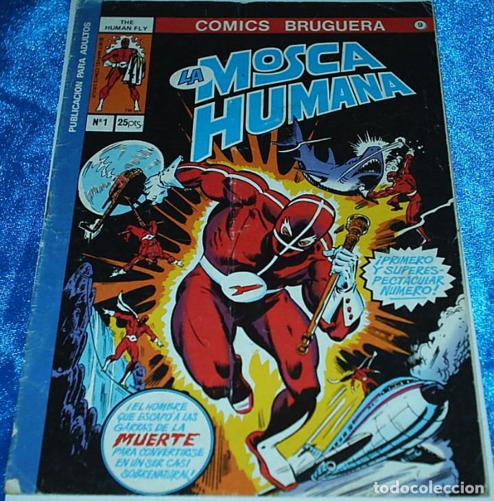 LA MOSCA HUMANAL Nº 1 - EDICIONES BRUGUERA 1977 - NÚMERO UNO - - LIQUIDACION (Tebeos y Cómics - Números 1)