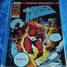 Tebeos: LA MOSCA HUMANAL Nº 1 - EDICIONES BRUGUERA 1977 - NÚMERO UNO - - LIQUIDACION. Lote 84605136