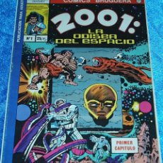Tebeos: 2001 ODISEA DEL ESPACIO Nº 1 - EDICIONES BRUGUERA 1977 - NÚMERO UNO - - LIQUIDACION. Lote 84605256
