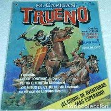 Tebeos: EL CAPITAN TRUENO REVISTA Nº 1 - EDICIONES BRUGUERA 1986 - NÚMERO UNO - - LIQUIDACION. Lote 84605328