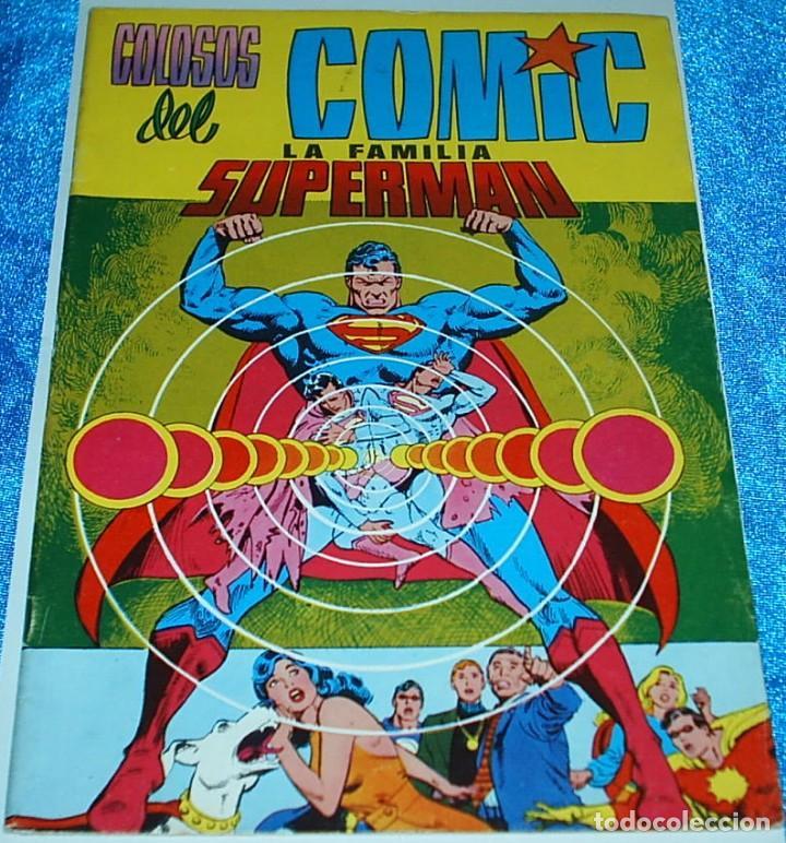 COLOSOS DEL COMIC FAMILIA SUPERMAN Nº 1 - EDICIONES VALENCIANA 1979 - NÚMERO UNO - - LIQUIDACION (Tebeos y Cómics - Números 1)