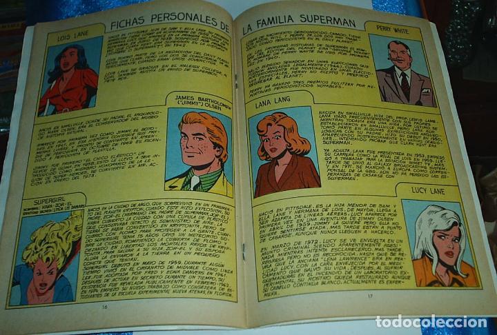 Tebeos: COLOSOS DEL COMIC FAMILIA SUPERMAN Nº 1 - EDICIONES VALENCIANA 1979 - NÚMERO UNO - - LIQUIDACION - Foto 2 - 84605500