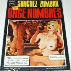 Tebeos: ONCE HOMBRES DE SANCHEZ ZAMORA Nº 1 ADULTOS -EDIT.INTERIMAGEN - LIQUIDACION Nº UNO- LEER DESCRIP... Lote 84701988
