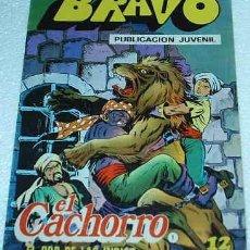 Tebeos: EL CACHORRO- BRAVO- Nº 1 - BRUGUERA 1976 - LIQUIDACION NUMEROS UNO. Lote 84704560