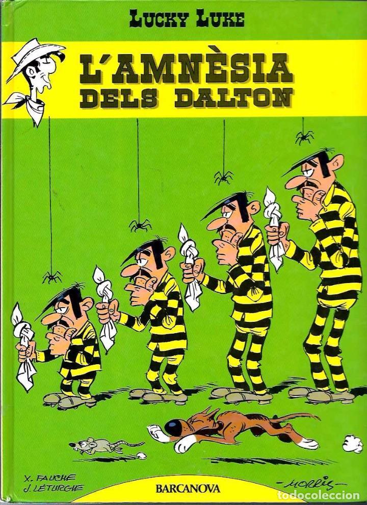 MORRIS, FAUCHE I LETURGIE - LUCKY LUKE Nº 1 - L' AMNESIA DELS DALTON - BARCANOVA 1992 - MOLT RAR (Tebeos y Cómics - Números 1)