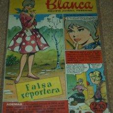 Tebeos: BLANCA Nº 1 - BRUGUERA 1961 - ORIGINAL - LIQUIDACION NUMEROS UNO. Lote 86145500