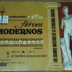 Tebeos: HEROES MODERNOS LUJO SERIE A Nº 1 - HOMBRE ENMASCARADO - ORIGINAL - LIQUIDACION NUMEROS UNO. Lote 86153132