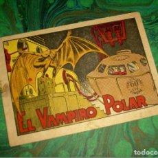 Tebeos: EL VAMPIRO POLAR. (COL. MONOGRAFICOS PUBLICACIONES CINEMA - 1940). . Lote 86517088