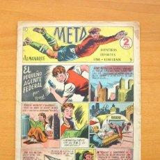 Tebeos: META - Nº 1 EL PEQUEÑO AGENTE FEDERAL - EDICIONES MARTE 1951. Lote 86748068