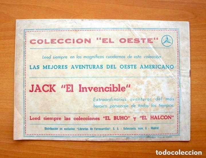 Tebeos: Coleccion El Oeste - nº 1 Buck el temerario - Editorial Lux años 40 - Foto 5 - 86749344
