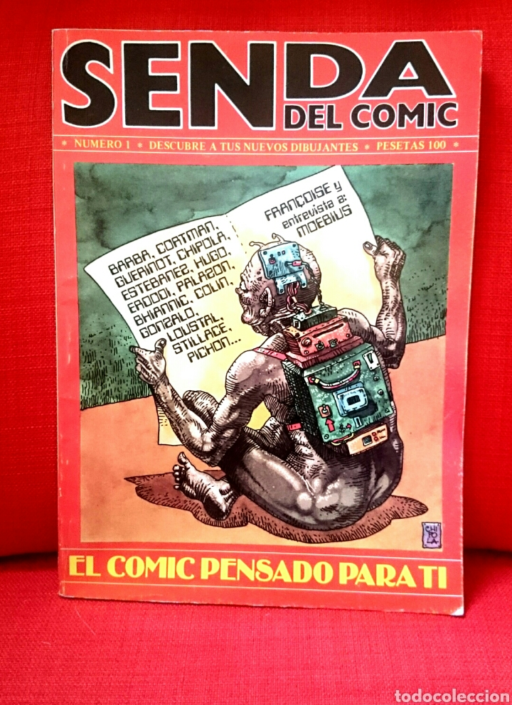 SENDA DEL CÓMIC. NÚMERO 1 (Tebeos y Cómics - Números 1)