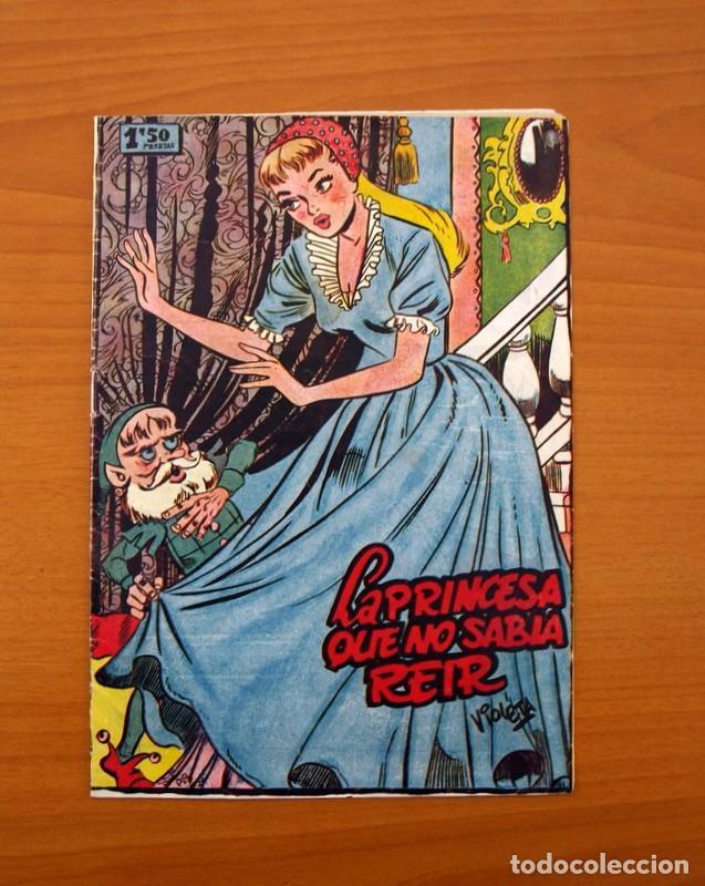 UN CUENTO SEMANAL Nº 1-LA PRINCESA QUE NO SABIA REIR - EDITORIAL JUVENIS 1955 (Tebeos y Cómics - Números 1)