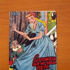 Tebeos: UN CUENTO SEMANAL Nº 1-LA PRINCESA QUE NO SABIA REIR - EDITORIAL JUVENIS 1955. Lote 87302328
