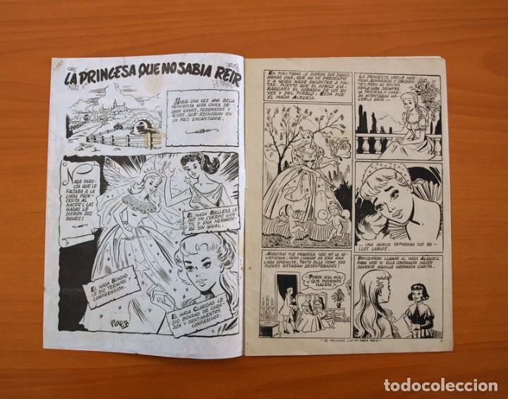 Tebeos: Un cuento semanal nº 1-La princesa que no sabia reir - Editorial Juvenis 1955 - Foto 2 - 87302328