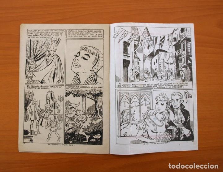 Tebeos: Un cuento semanal nº 1-La princesa que no sabia reir - Editorial Juvenis 1955 - Foto 4 - 87302328
