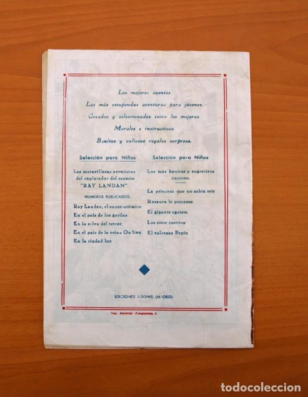 Tebeos: Un cuento semanal nº 1-La princesa que no sabia reir - Editorial Juvenis 1955 - Foto 5 - 87302328