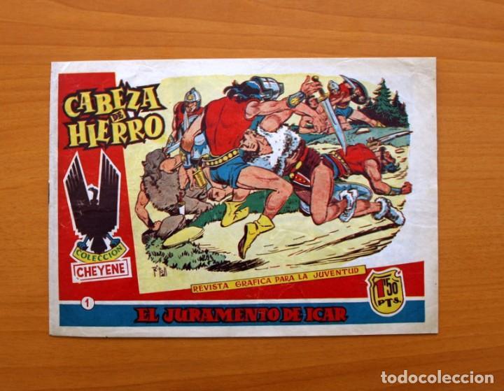 CABEZA DE HIERRO, Nº 1 EL JURAMENTO DE ICAR - EDITORIAL MARCO 1959 (Tebeos y Cómics - Números 1)