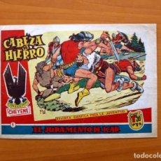 Tebeos: CABEZA DE HIERRO, Nº 1 EL JURAMENTO DE ICAR - EDITORIAL MARCO 1959. Lote 87361604