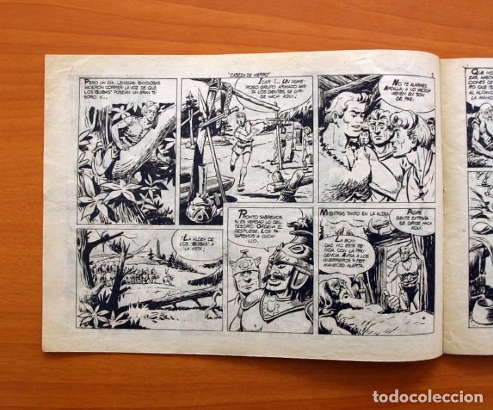 Tebeos: Cabeza de hierro, nº 1 El juramento de Icar - Editorial Marco 1959 - Foto 2 - 87361604