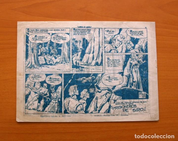 Tebeos: Cabeza de hierro, nº 1 El juramento de Icar - Editorial Marco 1959 - Foto 5 - 87361604