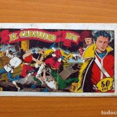 Tebeos: EL CABALLERO DEL REY, Nº 1 - EDITORIAL MARCO 1954. Lote 87363244