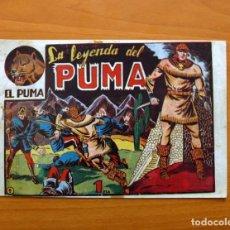 Tebeos: EL PUMA, Nº 1 LA LEYENDA DEL PUMA - EDITORIAL MARCO 1952. Lote 87364700