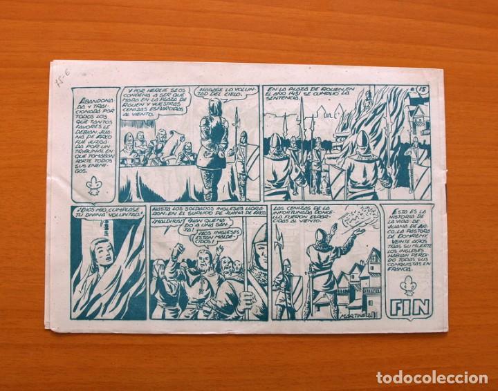 Tebeos: Juana de Arco, nº 1 - Editorial Marco 1950 - Foto 5 - 87376560