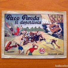 Tebeos: PACO PEREDA EL DEPORTISTA Nº 1 - COLECCIÓN AUDAZ- EDITORIAL HISPANO AMERICANA 1942, VER FOTOS. Lote 87516088