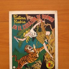 Tebeos: PANTERA RUBIA, Nº 1 EN EL CORAZÓN DE BORNEO - EDITORIAL HISPANO AMERICANA 1949, VER FOTOS. Lote 87516308
