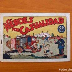 Tebeos: PEPIN Y RUFO, Nº 1 HÉROES POR CASUALIDAD - COLECCIÓN AUDAZ - HISPANO AMERICANA 1941, VER FOTOS. Lote 87516536