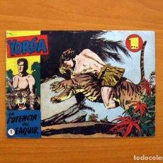 Tebeos: YORGA Nº 1 LA POTENCIA DEL FAQUIR - EDITORIAL HISPANO AMERICANA 1950, VER FOTOS INTERIORES. Lote 87519248
