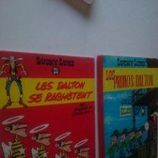Tebeos: LUCKY LUKE Nº 1-1963-TORAY Y Nº 26 TAPA DURA EN FRANCES-1969. Lote 90048784