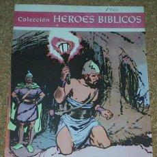 Tebeos: HEROES BIBLICOS Nº 1 ORIGINAL . 1961- LEER DESCR. Lote 91255400