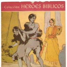 Tebeos: HEROES BIBLICOS Nº 1 ORIGINAL 1960-IMPORTANTE LEER DESCRIP.. Lote 91451965