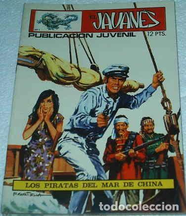 EL JAVANES Nº 1 ORIGINAL TORAY 1970 (Tebeos y Cómics - Números 1)