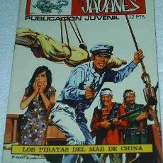 Tebeos: EL JAVANES Nº 1 ORIGINAL TORAY 1970. Lote 91452115