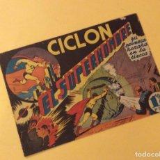 Tebeos: CICLON EL SUPERHOMBRE (H. AMERICANA). Nº 1. Lote 147058077