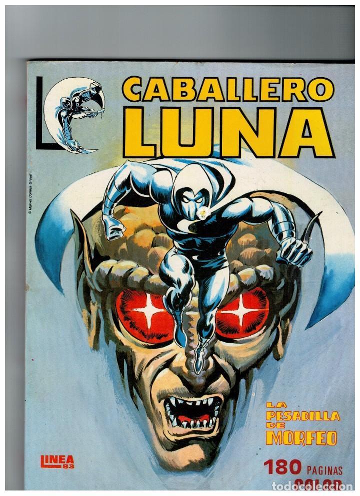 CABALLERO LUNA Nº 1 RETAPADO -EDICIONES SURCO- LINEA 83 (Tebeos y Cómics - Números 1)