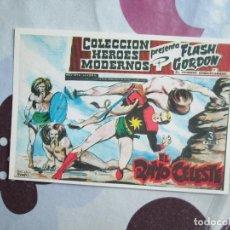 Tebeos: FLASH GORDON HEROES MODERNOS Nº 1 FICHA. Lote 95661027