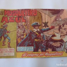 Tebeos: MOSQUETERO AZUL Nº 1 ORIGINAL. Lote 97285451