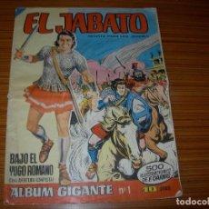Tebeos: EL JABATO ALBUM GIGANTE Nº 1 EDITA BRUGUERA . Lote 97790179