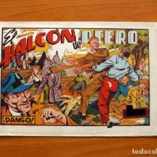 Tebeos: EL HALCÓN DE ACERO, Nº 1, DANGO - EDITORIAL AMELLER 1944 - TAMAÑO 22X32. Lote 98847203
