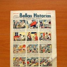 Tebeos: BELLAS HISTORIAS, Nº 1, EL TESORO DEL ABUELO - PUBLICACIÓN DE 1931 - TAMAÑO 38X27. Lote 98847667