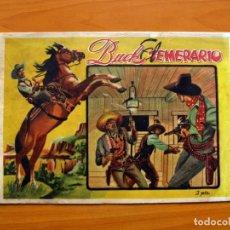 Tebeos: EL OESTE, Nº 1 - BUCK EL TEMERARIO - EDITORIAL LUX AÑOS 40 - TAMAÑO 21X30'5. Lote 98866651