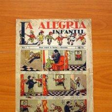 Tebeos: LA ALEGRIA INFANTIL, Nº 1 - EDITORIAL EL GATO NEGRO 1938 ¿ - TAMAÑO 27'5X19. Lote 98867107