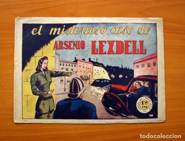 POLICIACA, Nº 1 -,EL MISTERIOSO CASO DE ARSENIO LEXDELL - BERGIS MUNDIAL AÑOS 40 - TAMAÑO 21X31 (Tebeos y Cómics - Números 1)