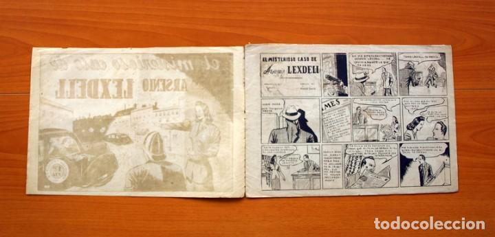 Tebeos: Policiaca, nº 1 -,El misterioso caso de Arsenio Lexdell - Bergis Mundial años 40 - Tamaño 21x31 - Foto 2 - 98876663