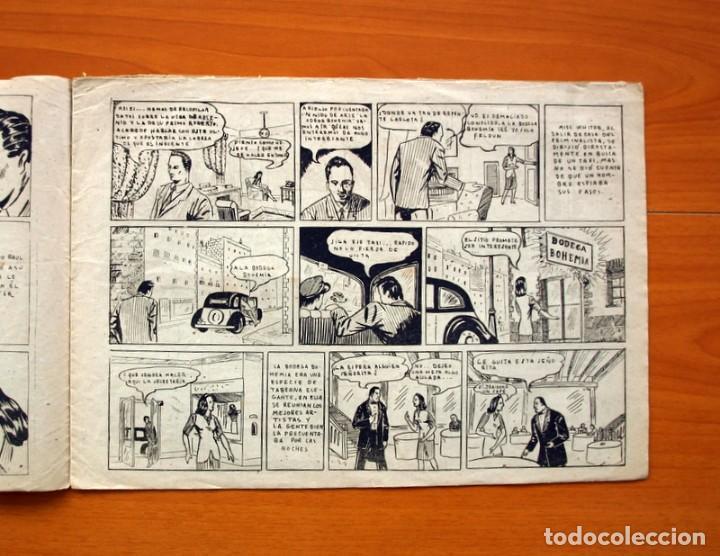 Tebeos: Policiaca, nº 1 -,El misterioso caso de Arsenio Lexdell - Bergis Mundial años 40 - Tamaño 21x31 - Foto 3 - 98876663
